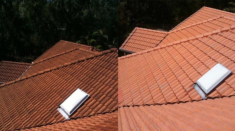 Roof Cleaning Crows Nest 2