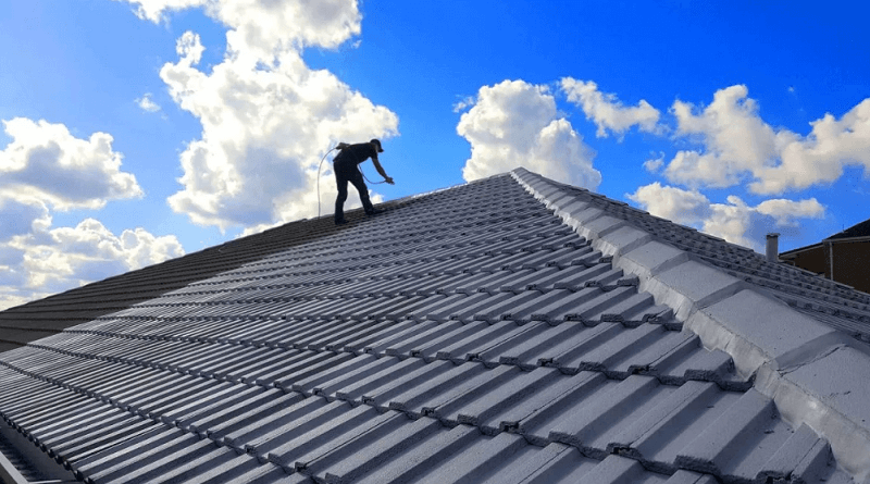Roof Painting North Wahroonga